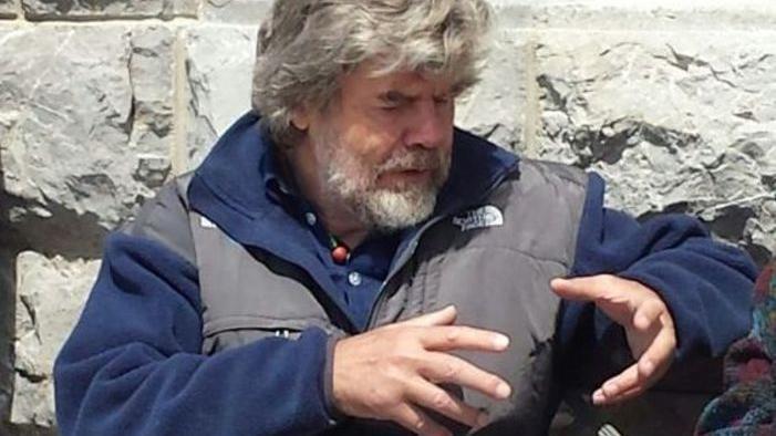 Messner ritorna sul Rite per festeggiare i 50 anni...