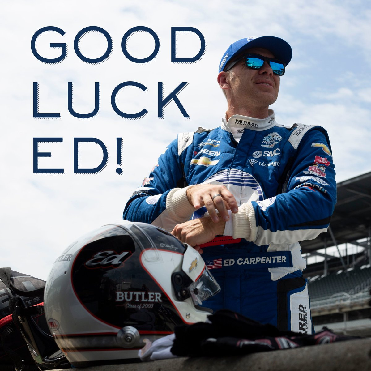 Butler University's photo on Ed Carpenter