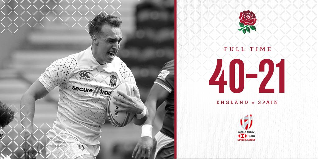 test Twitter Media - HSBC #London7s 🇬🇧  England are into the 13th place play-off after beating Spain: https://t.co/XkpHnJ9gf6 https://t.co/WUaLYFoqb4