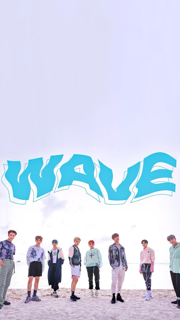 Ateez Treasure Ep 3 One To All Wave Wallpaper 에이티즈