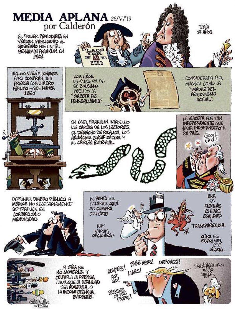 Media aplana - Calderón