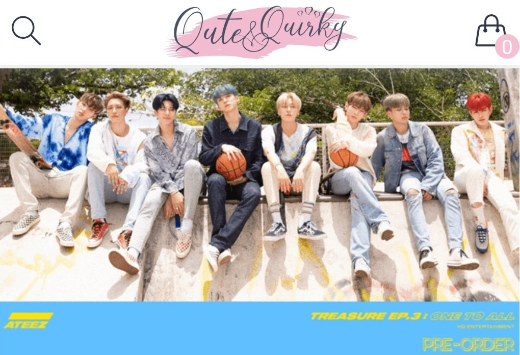 [📢] 190526  ⚠️ @ATEEZofficial COMBACK⚠️  SA 🇿🇦 ATINY PRE ORDER‼️  To all S.A ATINY that want to pre-order the ATEEZ-3rd Mini Album-Treasure EP 3: One To All, you can do so on the @QuteQuirkySA site!  📌 https://quteandquirky.co.za/products/ateez-3rd-mini-album-treasure-ep-3-one-to-all … 🥳 #ATEEZ #에이티즈 #ATINY #One_To_All #ILLUSION 🇿🇦