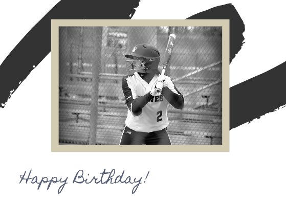 ITS CHER Birthday !!!HAPPY BIRTHDAY to our outfielder Jenna Rhoades  !!