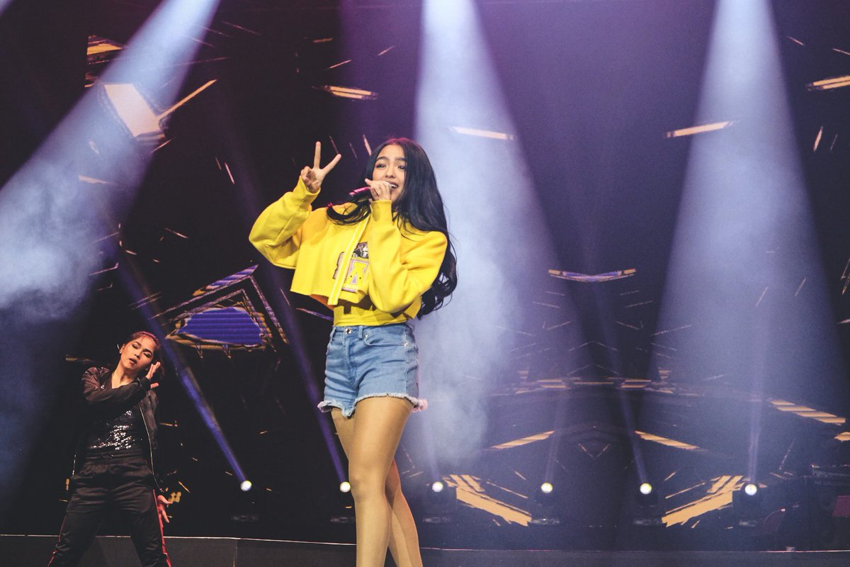 Andrea Brilliantes is unstoppable, way to make everyone bop to her pop hit at #YTFFPH!