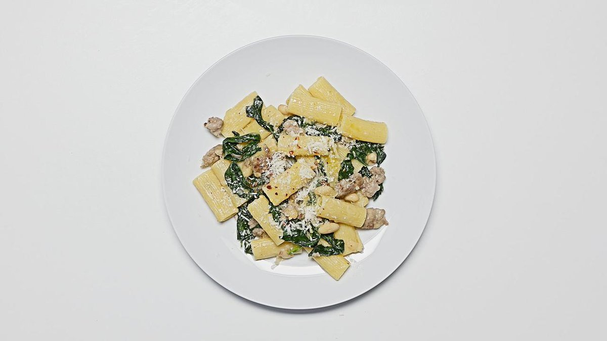 Image for the Tweet beginning: This pasta is the definition