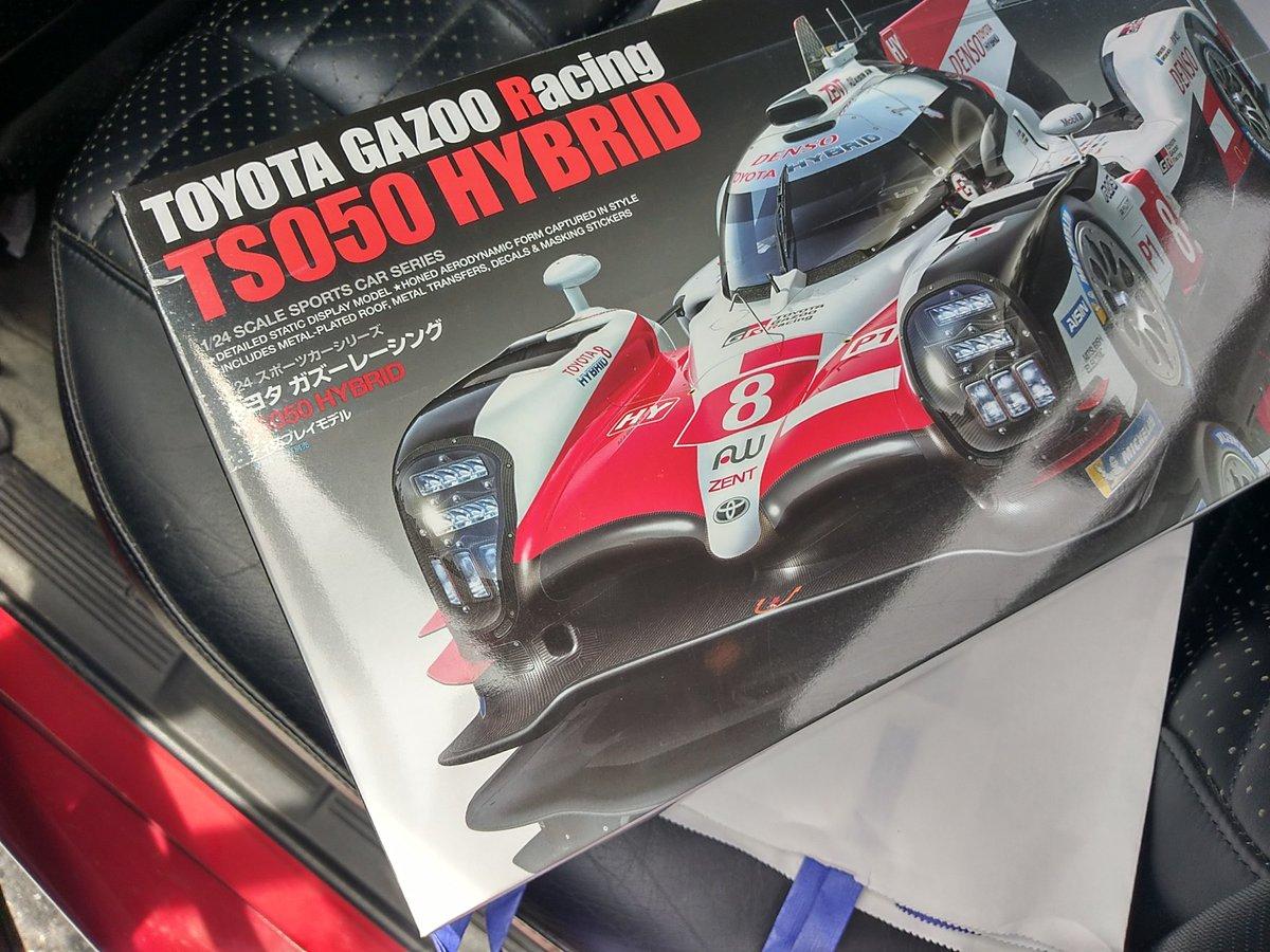 タミヤ 1/24 スポーツカーシリーズ No.349 トヨタ ガズーレーシング TS050 HYBRID プラモデル 24349に関する画像5