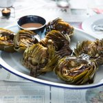 Image for the Tweet beginning: The secret to tender-crisp artichokes?