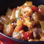 Image for the Tweet beginning: Sweet and sour pork with