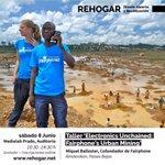 Image for the Tweet beginning: Atentas Actividades #REHOGAR!! Taller ELECTRÓNICA