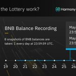 Image for the Tweet beginning: The final $BNB snapshot for