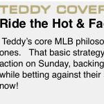 Image for the Tweet beginning: Ride the hot and fade