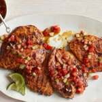 Image for the Tweet beginning: Recipe of the Day: Chile-Rubbed