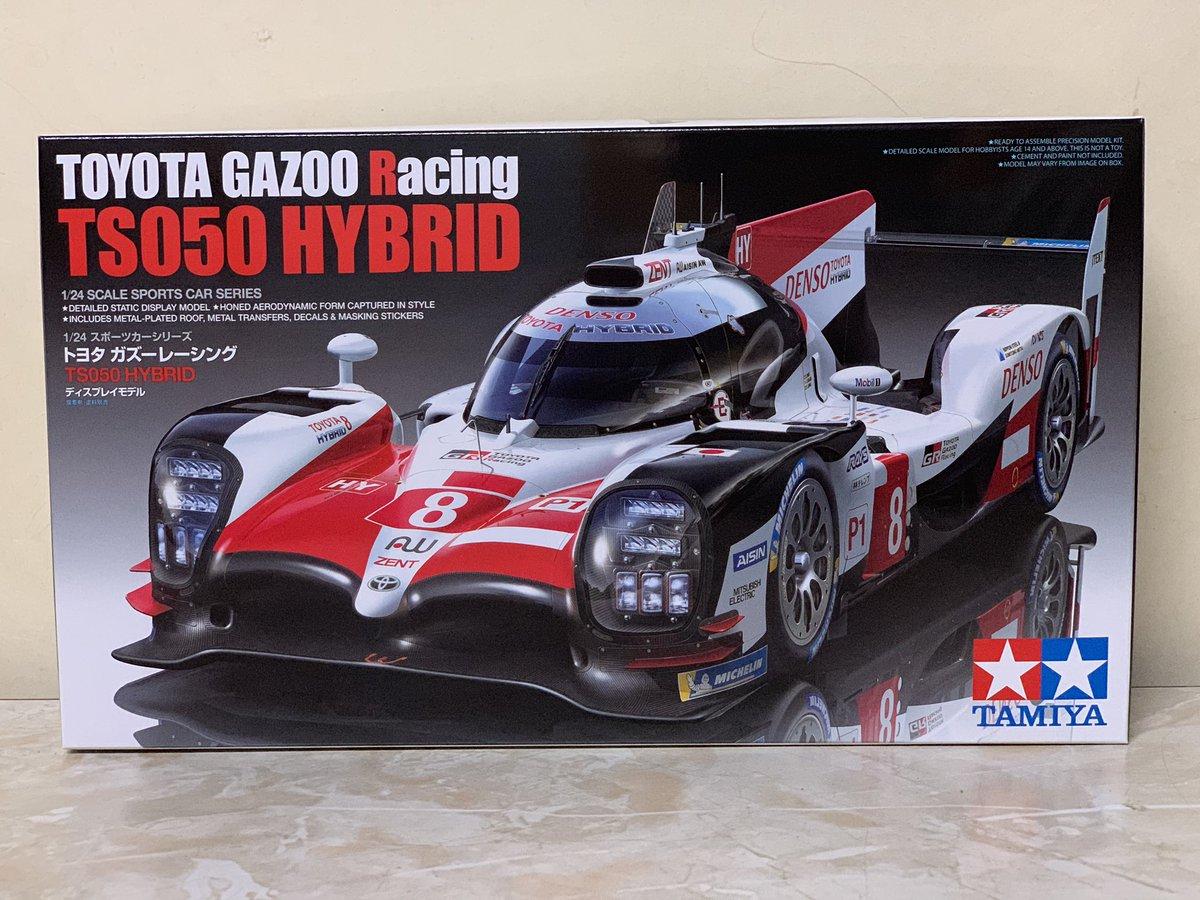 タミヤ 1/24 スポーツカーシリーズ No.349 トヨタ ガズーレーシング TS050 HYBRID プラモデル 24349に関する画像2