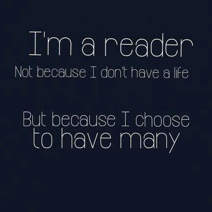 I am a READER...  #amwriting #amreading #SundayThoughts