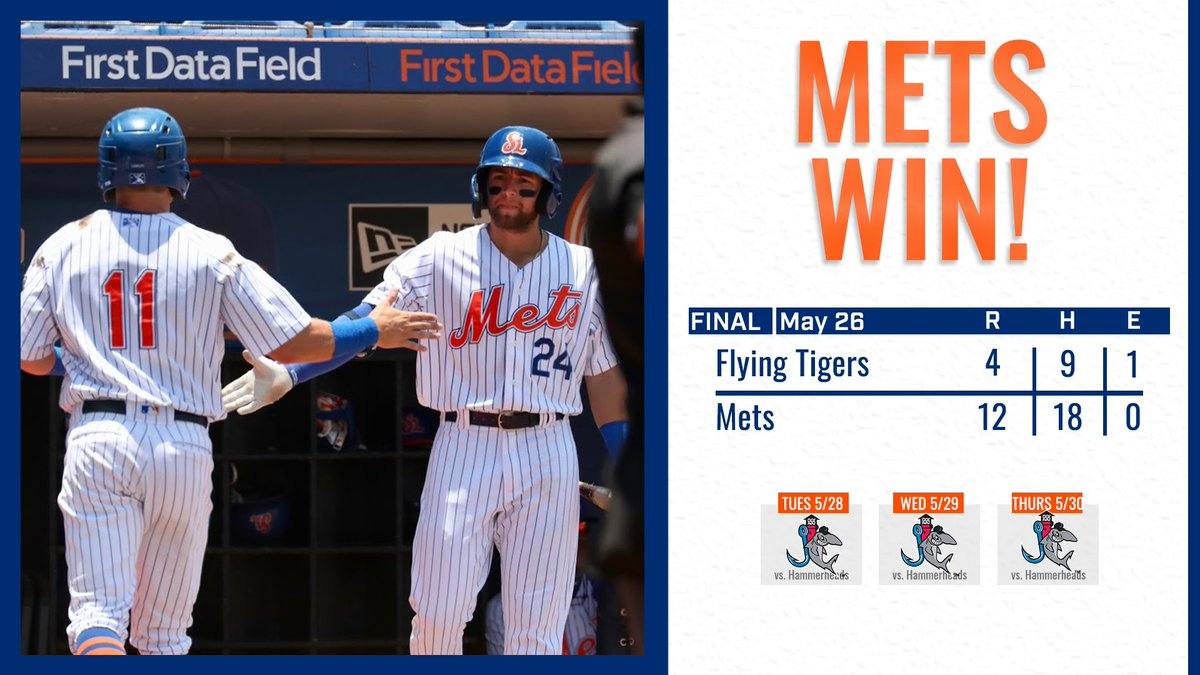 6ba9aaa9f What a day it was for the St. Lucie Mets! We ll be back again on Tuesday to  kick off a 3-game series against the Jupiter Hammerheads.