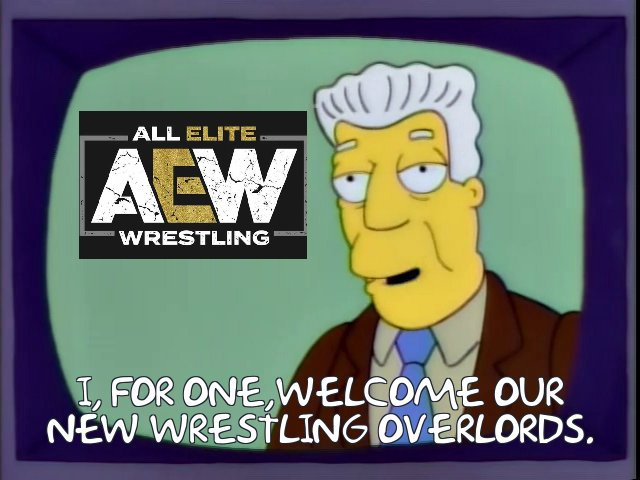More AEWposting and credit to James Overton for the idea @SimpsonsWWE