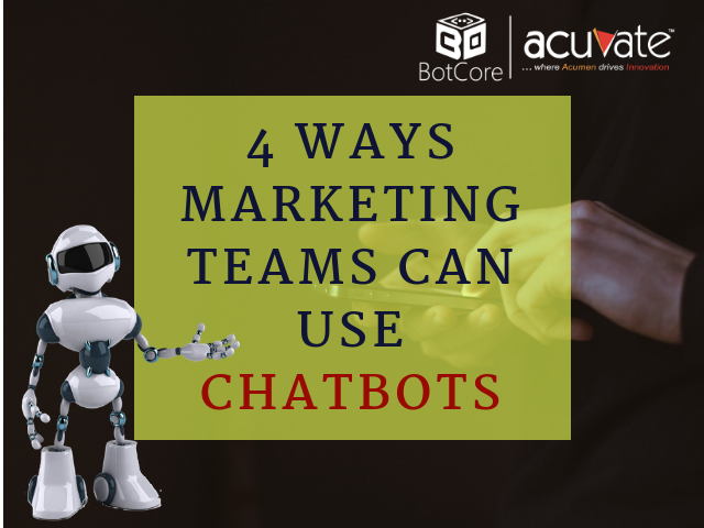 test Twitter Media - 4 Ways Marketing Teams Can Use Chatbots. https://t.co/rkY3PcnXU4  #ArtificialIntelligence #BotCore #MarketingBots #Chatbots https://t.co/cT1CtquNev