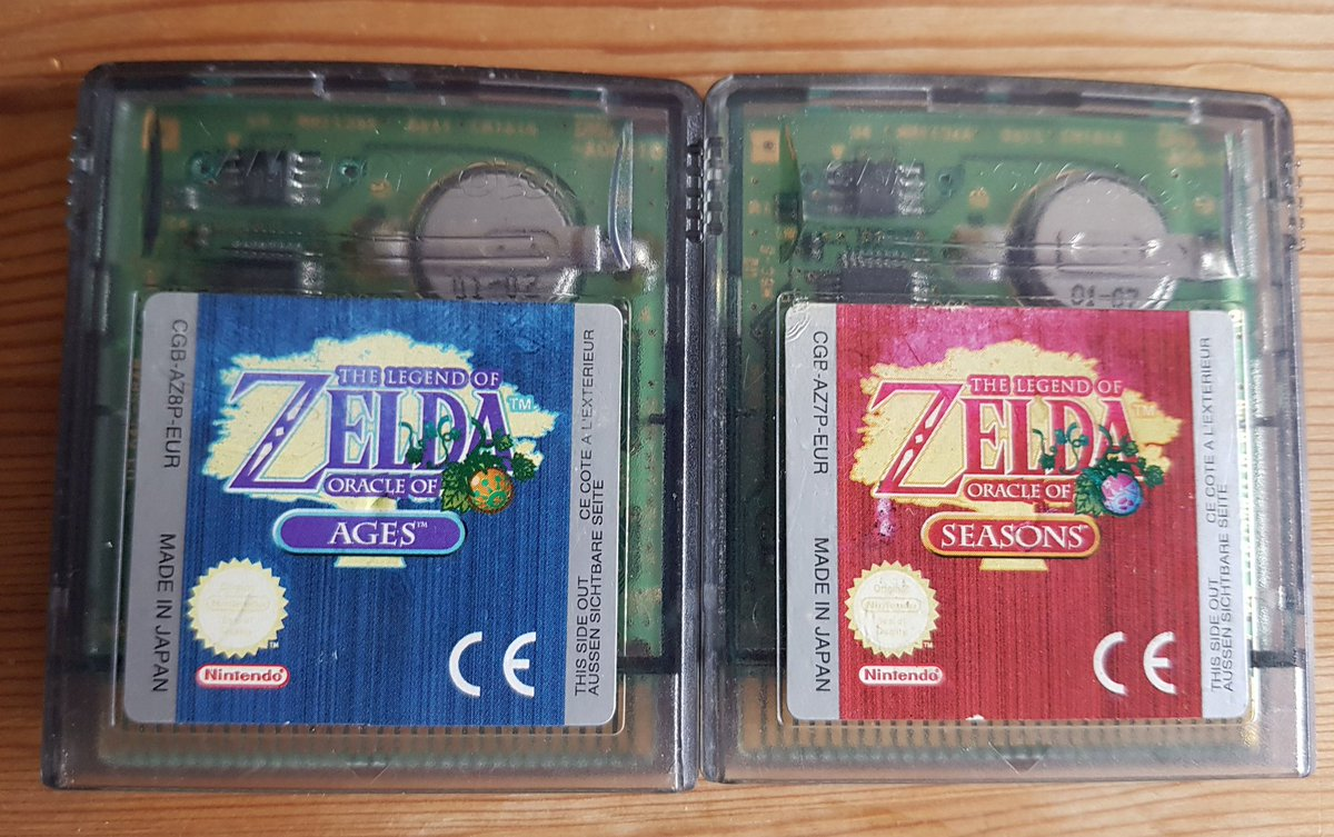 #ZeldaWeeks seems to have snuck up on me, though I've been replaying the Oracles series for a while now. Oracle of Ages and Seasons are fantastic games and almost as magnificent as Links Awakening! If you haven't played them, get to it! #GBSunday #ShareYourGames