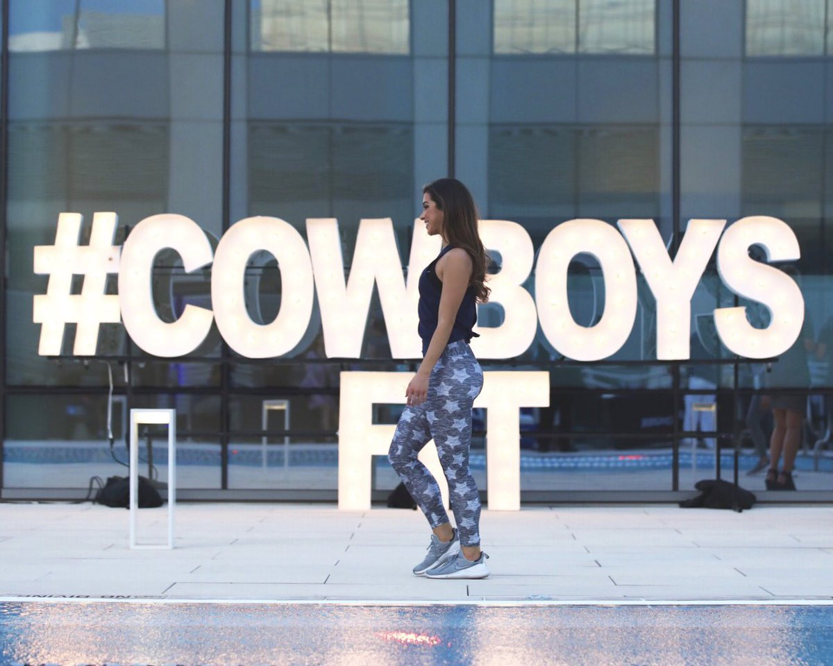 Successful Saturday night from #TheStarInFrisco at @cowboysfit's 2 year anniversary celebration! 🎉 #CowboysFit
