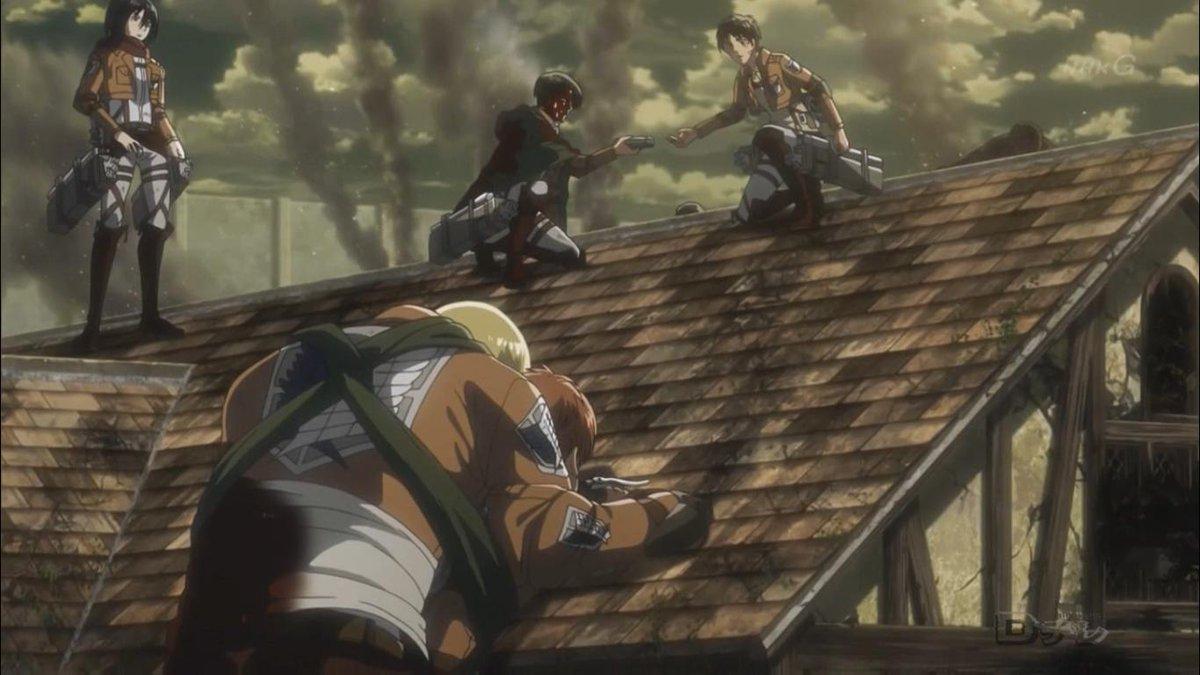 shingeki no kyojin episode 6 animewaffles