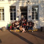 Image for the Tweet beginning: #teamMFL les èrudits s'amusant bien.