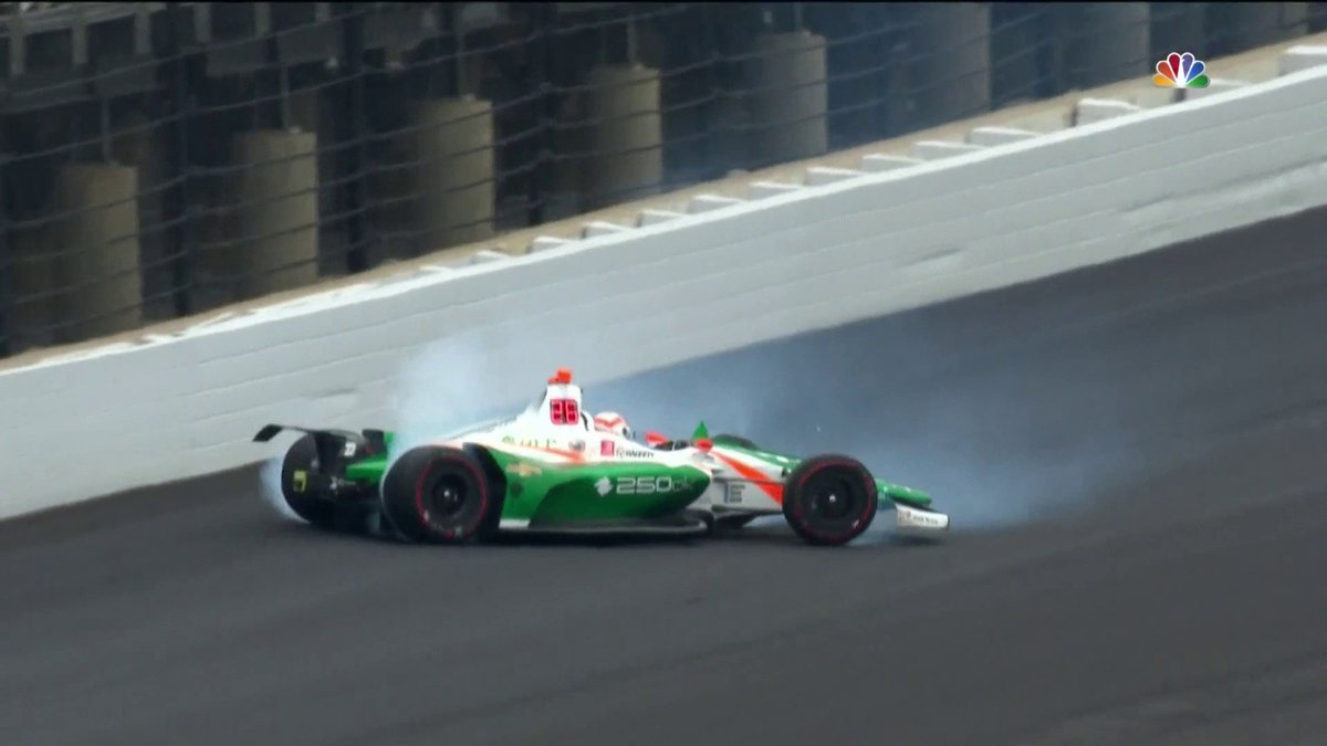 IndyCar on NBC's photo on Kyle Kaiser