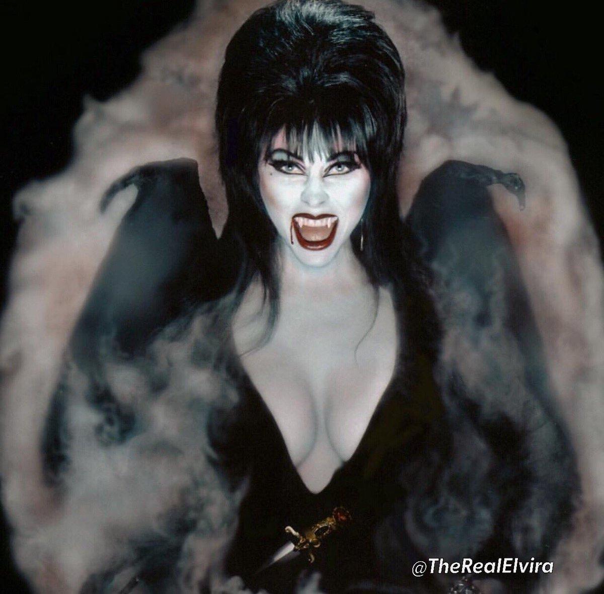 Elvira's photo on #WorldDraculaDay