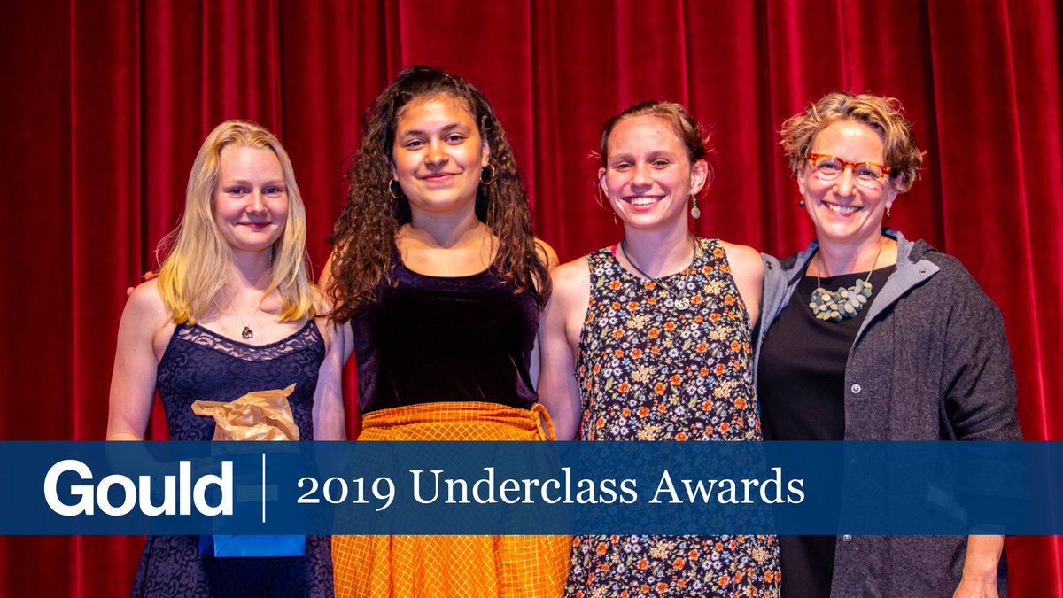 Join us live right now on @Livestream for our 2019 Underclass Awards! livestream.com/GouldAcademy/u…
