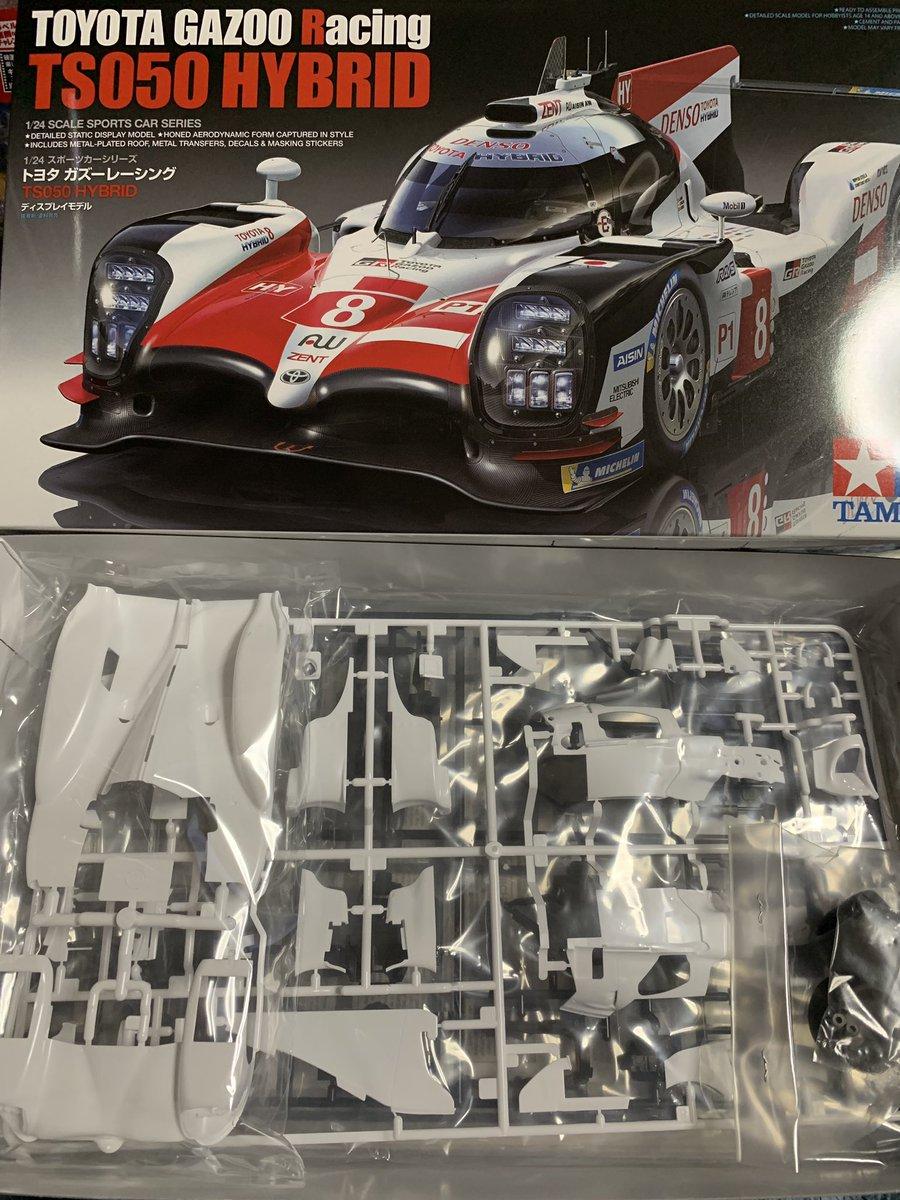 タミヤ 1/24 スポーツカーシリーズ No.349 トヨタ ガズーレーシング TS050 HYBRID プラモデル 24349に関する画像3