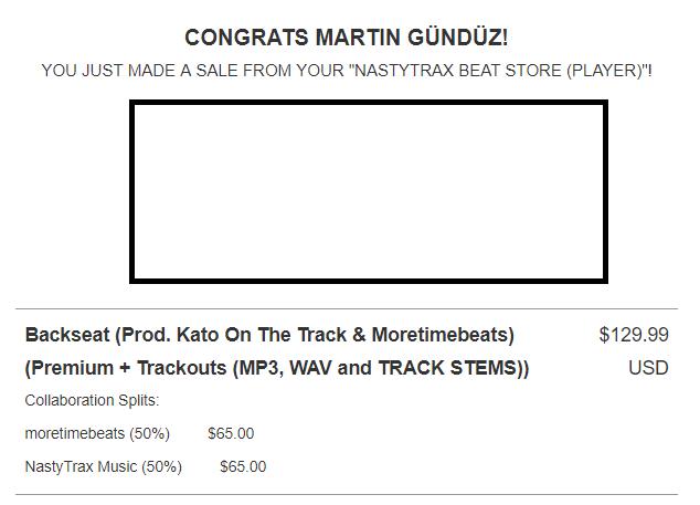 Keep 'em coming @BeatStars @KatoProducer - Thank you guys!