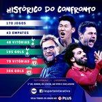 Image for the Tweet beginning: QUE DUELO! No histórico do