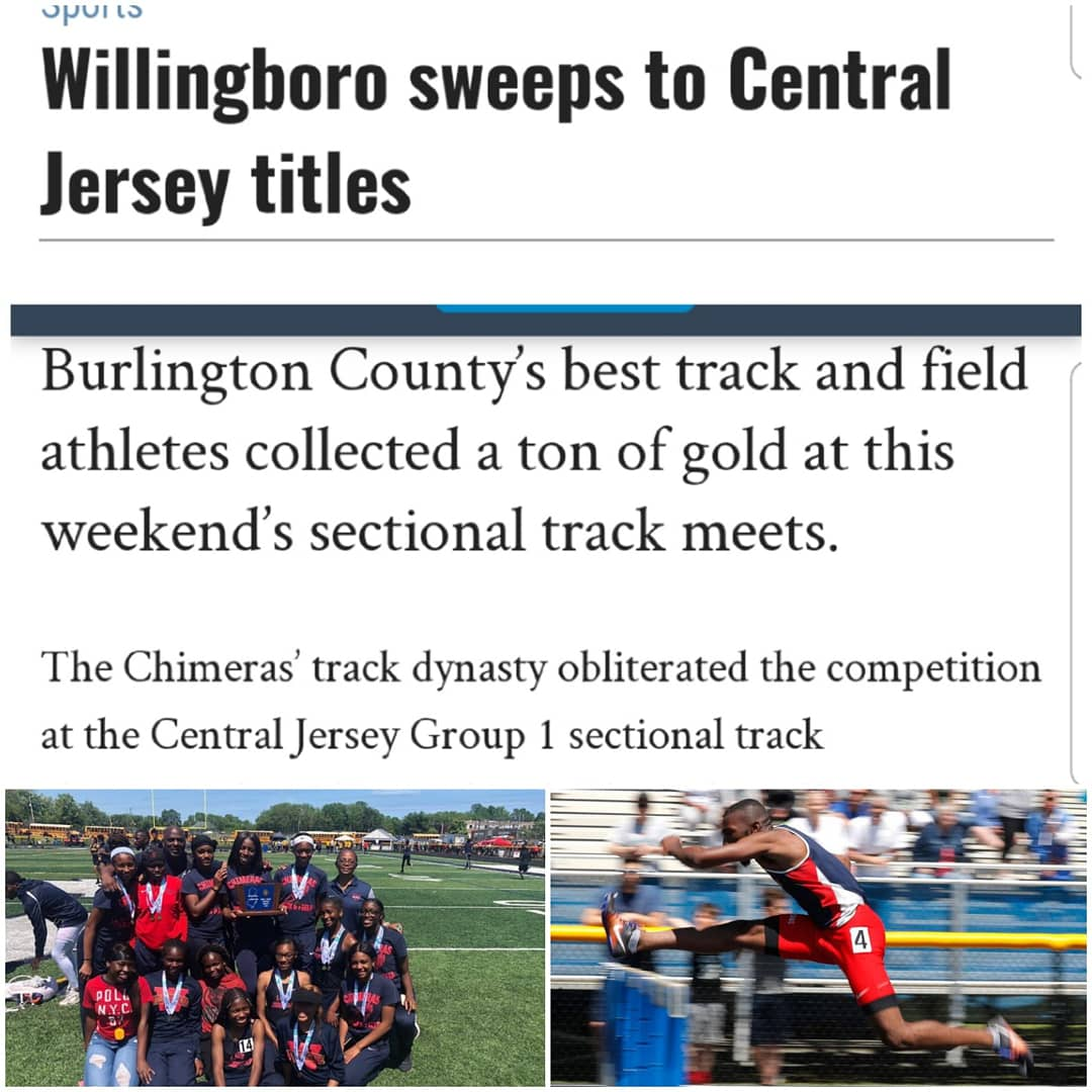 Congratulations to the Boys and Girls Central Jersey State Sectional Track Champion #Chimeras !!! #Boropride #statechamps #studentathletes #scholarathletes #trackandfield #andstill #dynasty