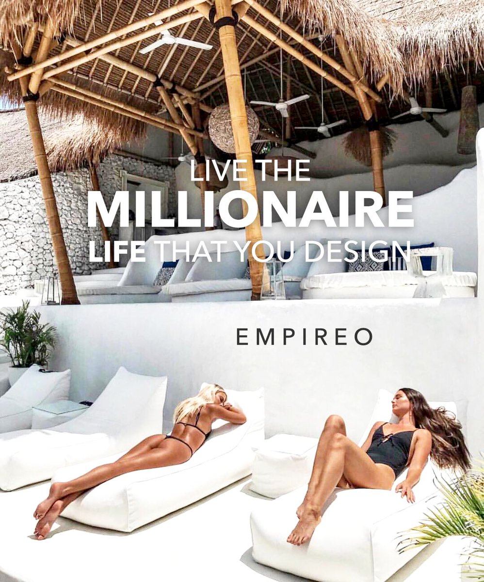 """Live the #MILLIONAIRE life that you design.  """"QUANTUM LEAP TO MILLIONAIRE""""💰💎 ▶️ I want to know more about the program https://empireoquantumleap.com/  #MILLIONAIREMINDSET #MILLIONAIRE #BILLIONAIRE #LUXURY #LUXURYMANSIONS #LUXURYCAR #EMPIREO"""