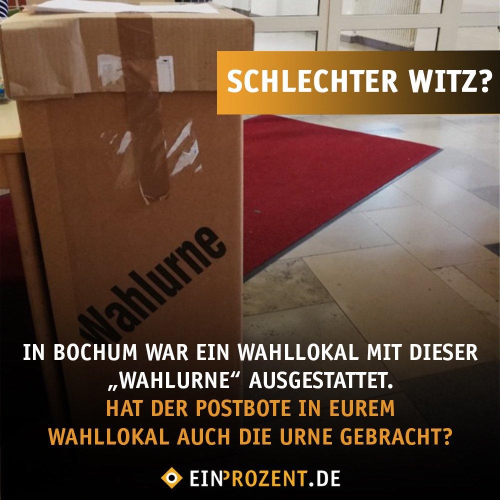 Euer Ernst? So sehen manche Wahlurnen in Deutschland aus. 🙄😄 Habt ihr ähnliche Erfahrungen gemacht? 🙈 #EUWahl2019 #Europawahl2019 #GehtWaehlen