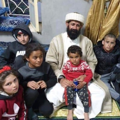 These Yezidi children were rescued from ISIS captivity in Syria few months ago, they were kidnapped from Shingal- Iraq in August 2014. Baba Chawish, a member of the Yezidi Spiritual Council, went to Syria to welcome and bring them back to Shingal   #YazidiPlight