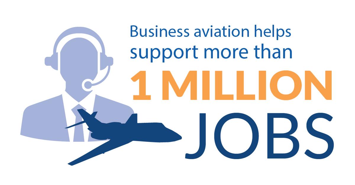 Business aviation is a vital contributor to America's job base, economy and transportation system. #BizAvWorks