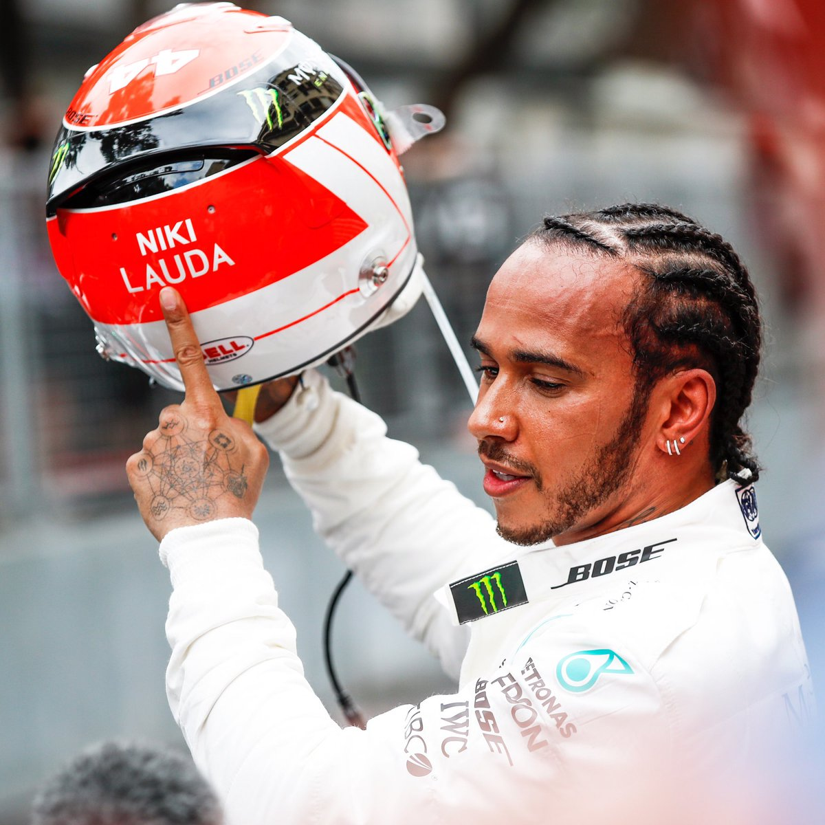 Today belongs to Niki... #MonacoGP