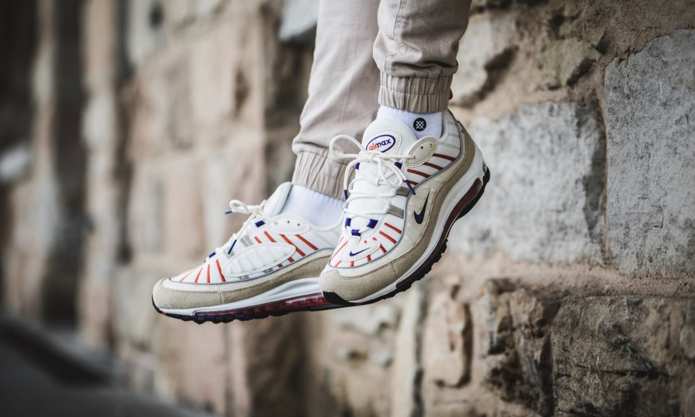 Nike Air Max 98 Sail Court Purple
