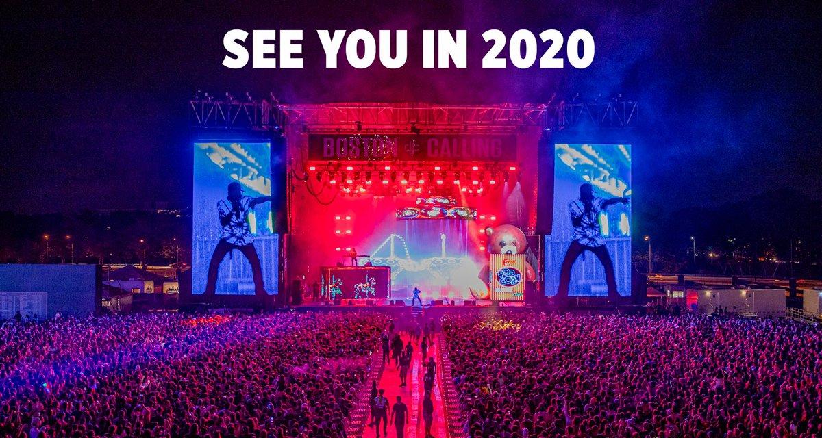 Boston Calling 2020 dates