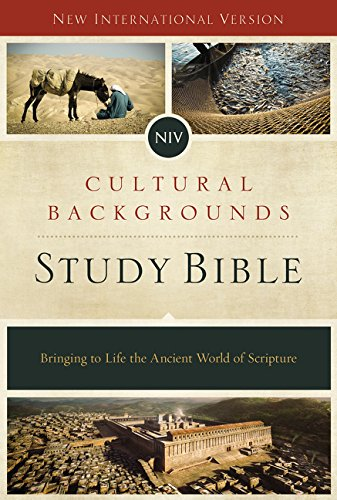 READ' NIV Cultural Backgrounds Study Bible: Bringing to Life
