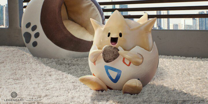 Concept Art Detective Pikachu