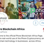 Image for the Tweet beginning: Follow @AfricaPhore and join our