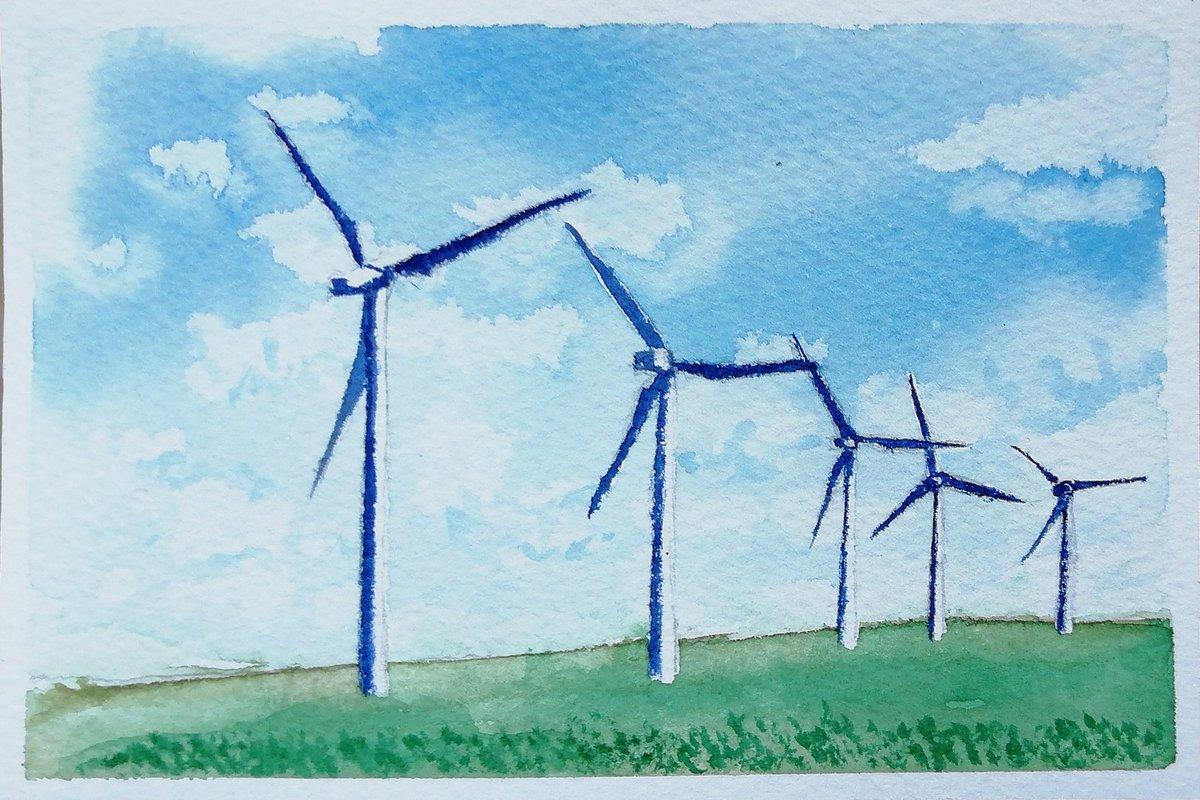 Twoucan 風力発電 の注目ツイートイラストマンガコスプレモデル