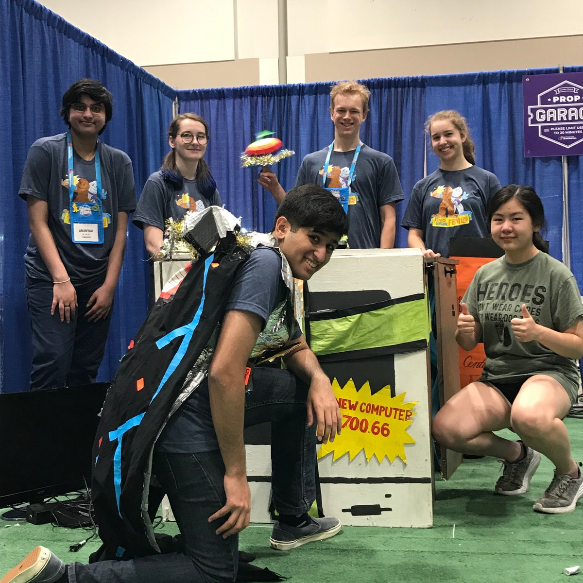 Congratulations to our Destination Imagination Team, Murphy's Law, for coming in 8th place at Global Finals! They competed against over 50 teams, from all over the world, in the Fine Arts Game On challenge at the Global Finals in Kansas City. #creativeproblemsolving #hutchcfe #DI