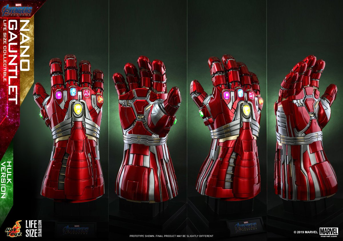 Fin de partie-Hulk Marvel Avengers Hot Toys Cosbaby