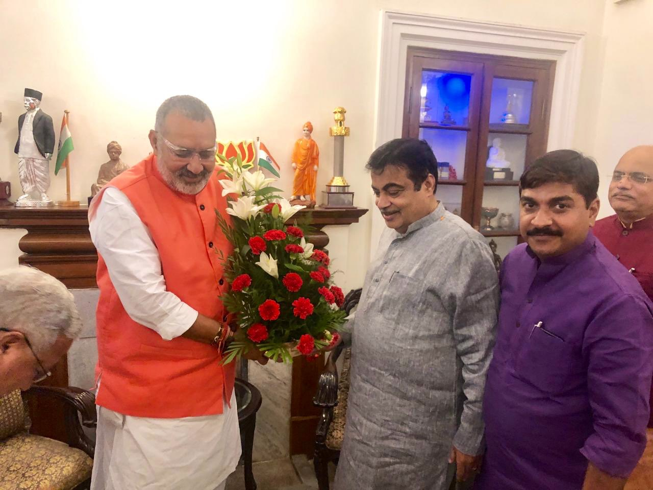 Wishing super human in Modi cabinet Shri Nitin Gadkari ji a very happy birthday i.