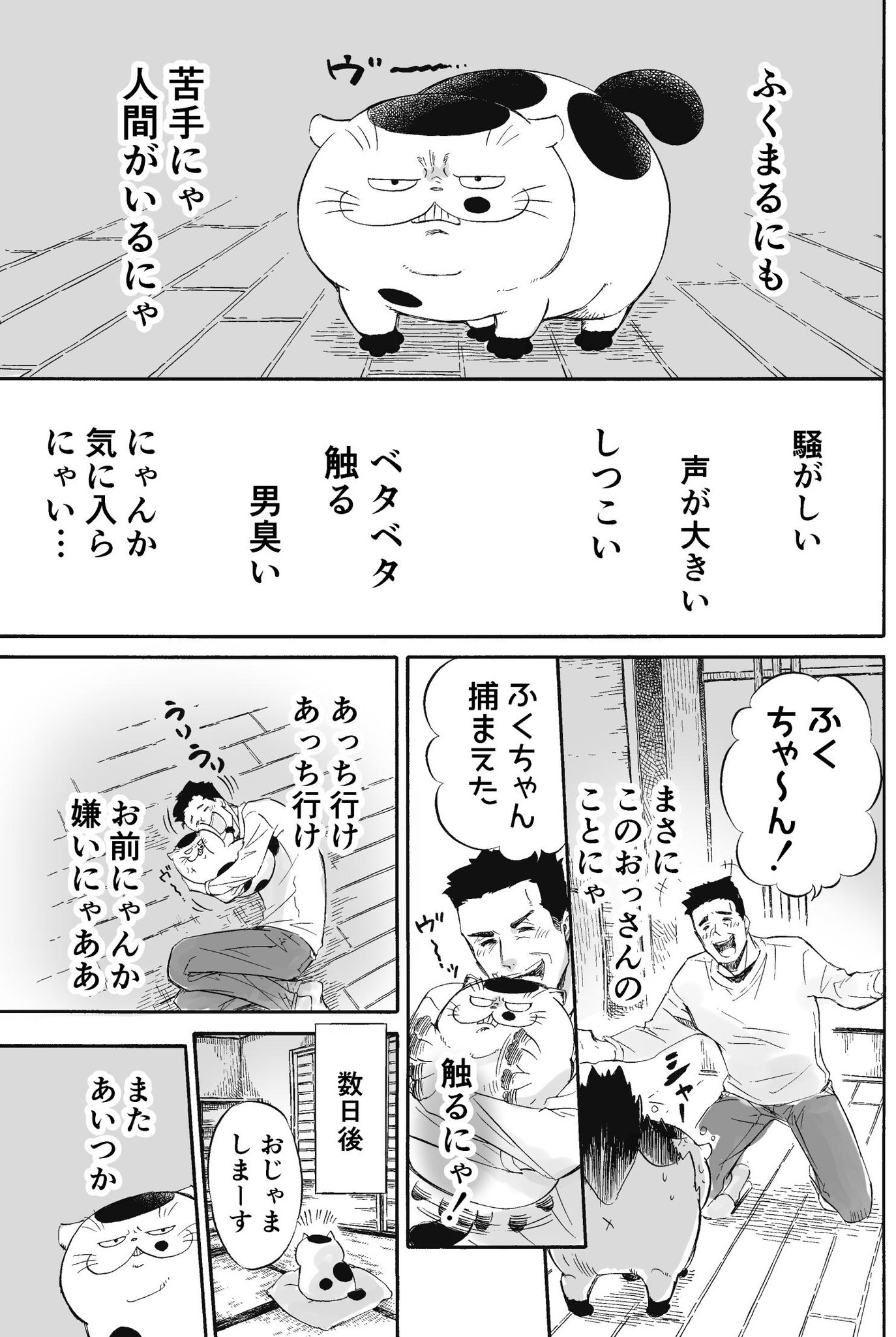 【おじさまと猫】 ふくまるの猫ごころ