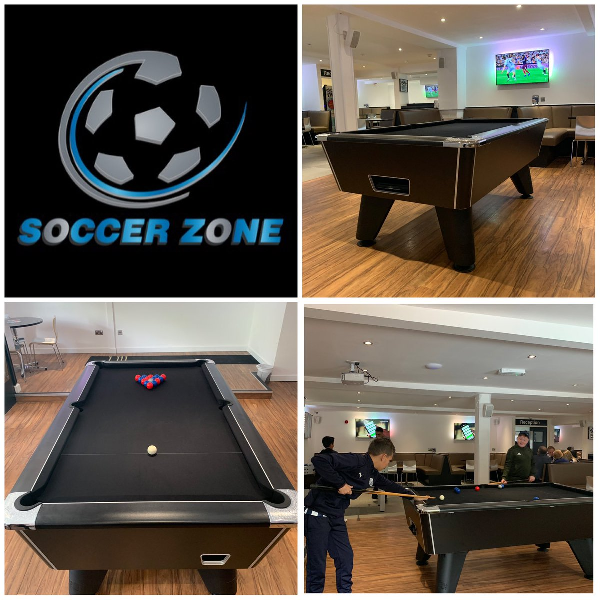 Soccer Zone Halesowen On Twitter At Soccer Zone We Now Have A Full Size Pool Table Come Down And Play Pool With Your Friends It S Only 1 A Game We