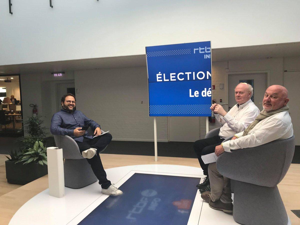 Participez dès maintenant à notre débrief #Elections2019 en Facebook Live sur @lapremiere et @RTBFinfo