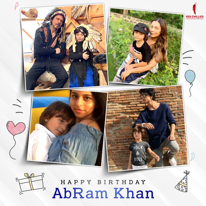Happy Birthday Prince AbRam